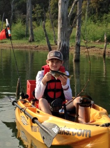 Jack's First Kayak Bass