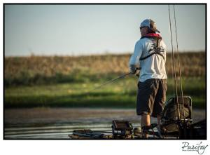 Stalking Shallow Water Bass In Silence